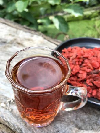 chinese wolfberry: Goji berries drink