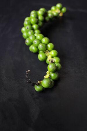 peppercorn: Green peppercorns