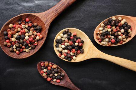 peppercorns: Peppercorns Stock Photo