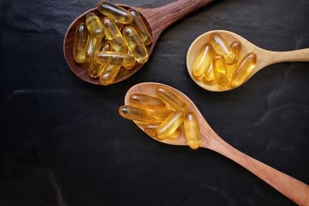 gel capsule: Cod liver oil capsules