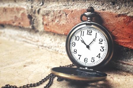 reloj de bolsillo de la vendimia