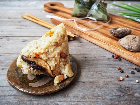 Zongzi chinese food Stock Photo