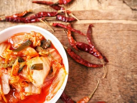 Kimchi korean food Stock Photo