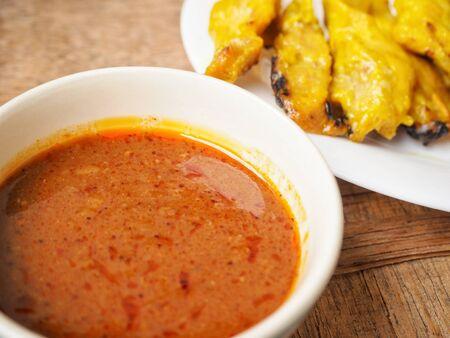 Indian tandoori chicken tikka kebabs