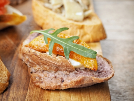 bruschetta: Bruschetta Stock Photo