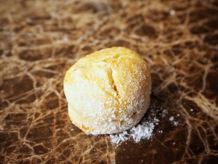 scones: Scones close up on marble