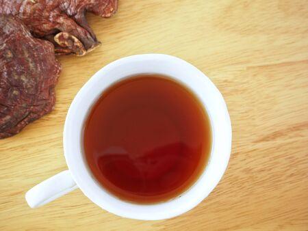 Ganoderma lucidum tea - Ling zhi mushroom