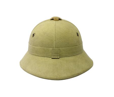 stetson: Brown vintage hat on white background.