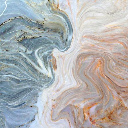 추상 아크릴 페인트 파도 크리 에이 티브 배경입니다. 청록색 대리석 질감. 블루 수제면. 스톡 콘텐츠