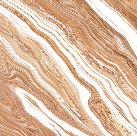 fond créatif avec acrylique peint vagues abstraites. Belle texture de marbre. surface à la main Brown. Peinture liquide. fond d'écran horizontal.