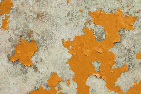 flaking: A Grunge Background with Old Peeling Paint