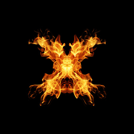 fire letter: Fire letter X.