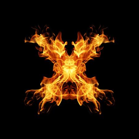 fervent: Fire letter X.
