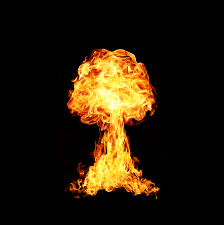 hydrogen bomb: Nuclear explosion Stock Photo