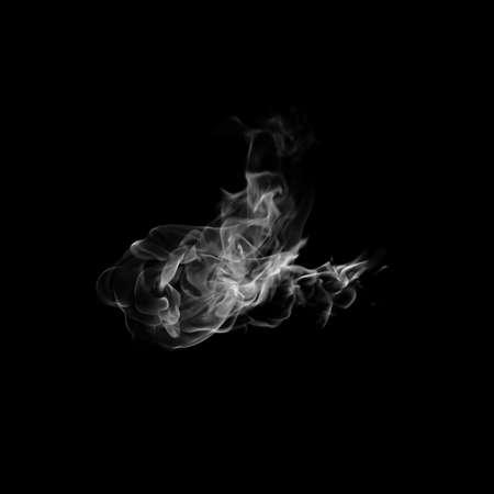 black smoke: Black smoke.