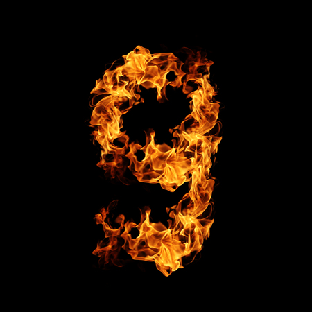 numero: Fire number 9