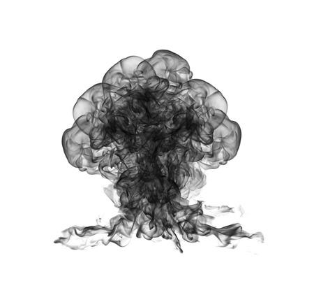 Explosion nucléaire Banque d'images