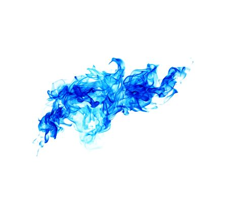 blue fire: Blue fire Stock Photo