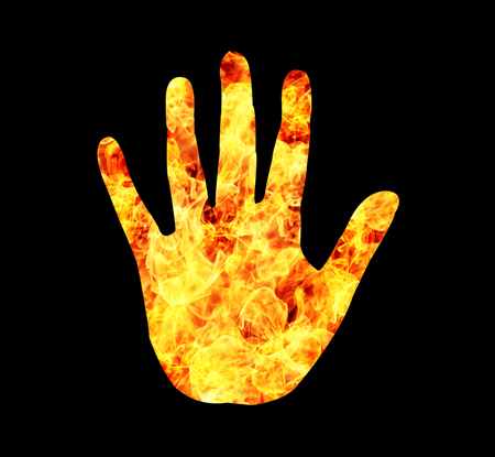 biometrics: Fire hand