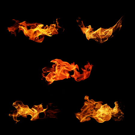 flametongue: Fire flames collection.