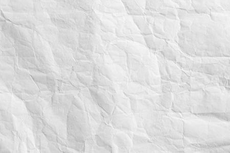ホワイトは、ペーパー バック グラウンド テクスチャの折り目 写真素材