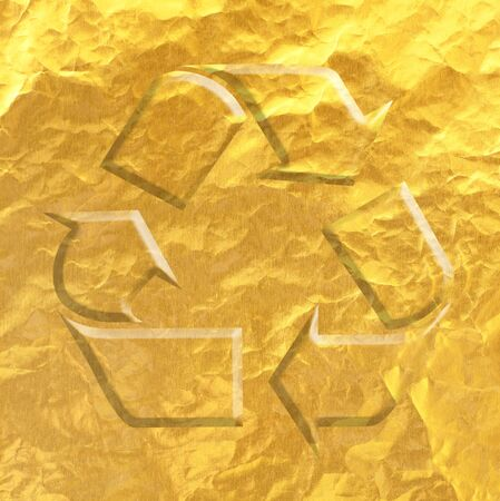 reflection of life: gold Recycle
