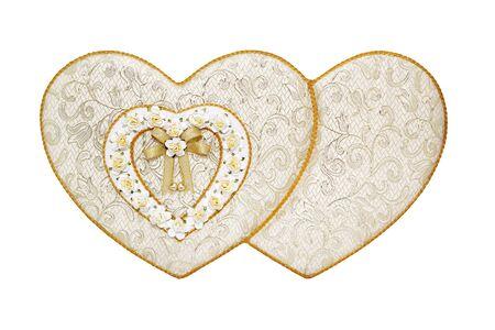 shaped: Heart shaped gift box