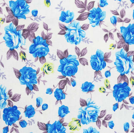 business cloth: pattern flower on cloth fabric for business Stock Photo