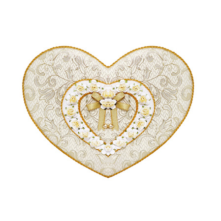 heart shaped: Heart shaped gift box