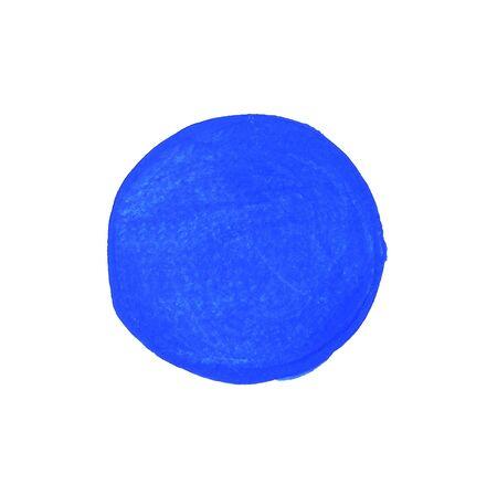 Astratto sfondo blu acquerello Archivio Fotografico - 53078457