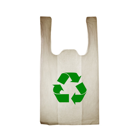 reprocess: Old plastic bags Stock Photo