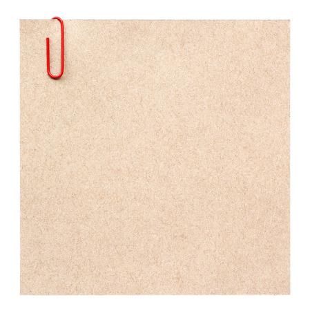 instigator: Blank paper with red staple