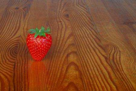 Strawberry on table Standard-Bild