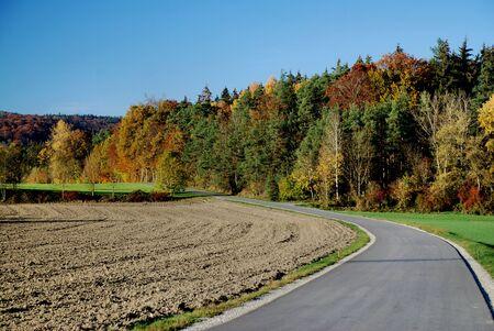 Herbststimmung Standard-Bild