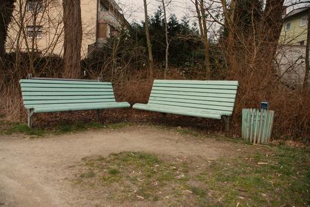 Park Bench Standard-Bild
