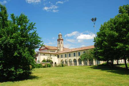 Park in Italy Standard-Bild