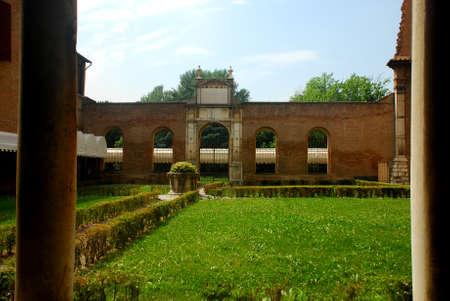 Gardens of a monastery