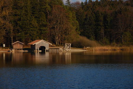 Boathouse on Griessee