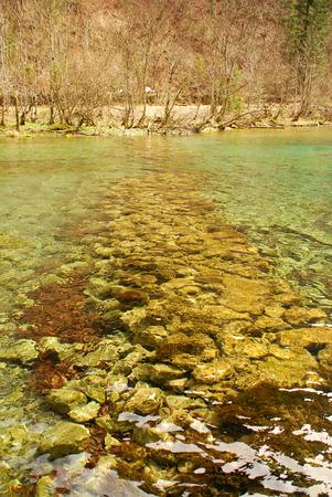 Stone Wall underwater