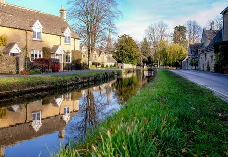 slaughter: Lower Slaughter, Cotswolds, England