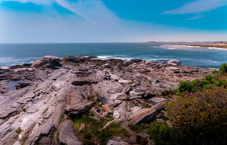 New England rockscape. Фото со стока