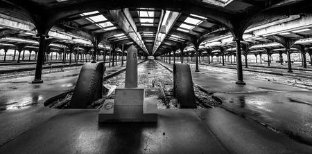 buffers: Abandoned station - USA