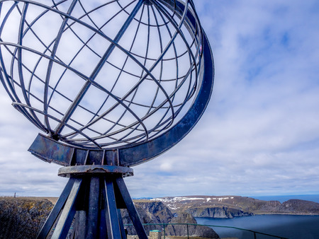 Nordkapp - The Norh Cape.  Most northerly point of Europe.