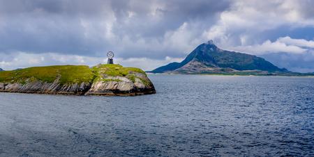 西ノルウェー北極圏マーカー 報道画像