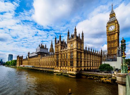 国会議事堂-ウェストミンスター宮殿、ロンドン 写真素材