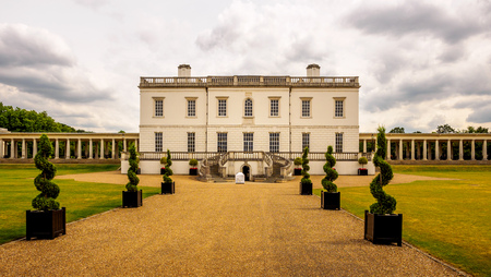 The Queens House, Greenwich - part of the royal Naval College and a UNESCO World Heritage Site