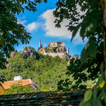 Burgruine Durnstein - a ruined medieval castle on the Danube