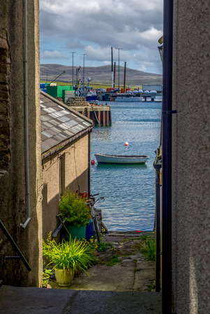 Relaxed way of life in Stromness, Orkney Islands
