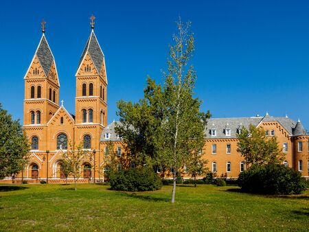 Assumption Abbey, located in Richardton, North Dakota, is a Benedictine abbey of the American-Cassinese Congregation, founded in 1893 by a monk of the Swiss abbey of Einsiedeln. Editöryel