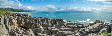 Pancake Rocks and Blowing Holes, Punakaiki, New Zealand